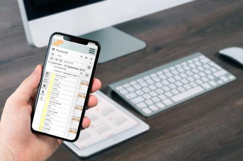Personeelsplanning app telefoon
