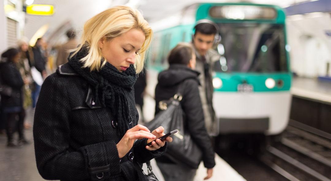vrouw metro planningssoftware